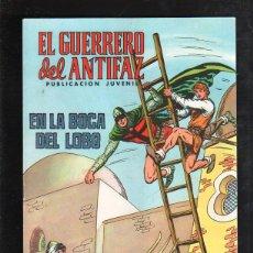 Tebeos: TEBEO EL GUERRERO DEL ANTIFAZ. Nº 106. EN LA BOCA DEL LOBO. 1974. Lote 43528483