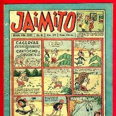 Tebeos: JAIMITO , Nº 372 , VALENCIANA , ORIGINAL. Lote 43590507
