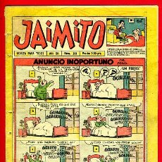 Tebeos: JAIMITO , Nº 381 , VALENCIANA , ORIGINAL. Lote 43590509