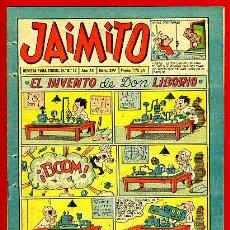 Tebeos: JAIMITO , Nº 397 , VALENCIANA , ORIGINAL. Lote 43590519