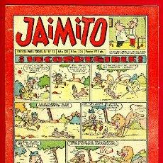 Tebeos: JAIMITO , Nº 399 , VALENCIANA , ORIGINAL. Lote 43590520