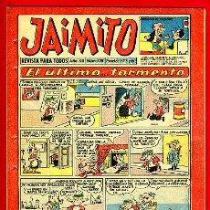 Tebeos: JAIMITO , Nº 420 , VALENCIANA , ORIGINAL. Lote 43590522