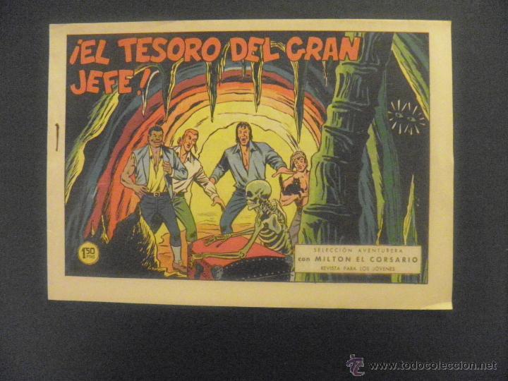 TEBEO DE MILTON EL CORSARIO (Tebeos y Comics - Valenciana - Otros)