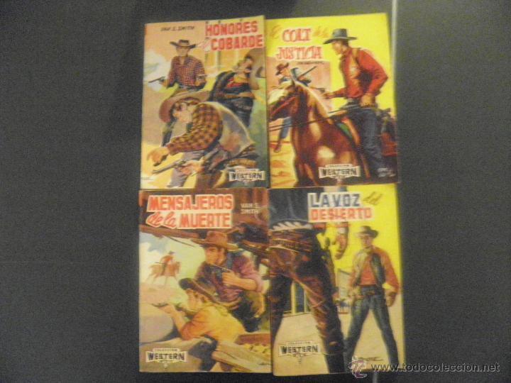 Tebeos: novelas de coleccion western - Foto 2 - 43609087
