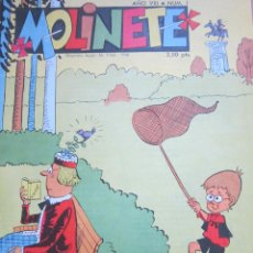 Tebeos: MOLINETE Nº 1 - 1963. Lote 43627557