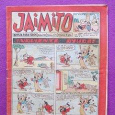 Tebeos: TEBEO JAIMITO, Nº475, ¡VALIENTE AYUDA!, HUMOR, . Lote 43667166