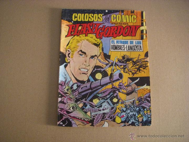 COLOSOS DEL COMIC, FLASH GORDON Nº 8, EDITORIAL VALENCIANA (Tebeos y Comics - Valenciana - Colosos del Comic)