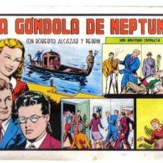 Tebeos: ROBERTO ALCAZAR Y PEDRIN Nº 82. LA GONDOLA DE NEPTUNO. LITERACOMIC.. Lote 43732067