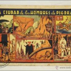 Tebeos: ANTIGUO CÓMIC JULIO Y RICARDO. LA CIUDAD DE LOS HOMBRES... - Nº 8 - ED. VALENCIANA - 1943. Lote 43804431