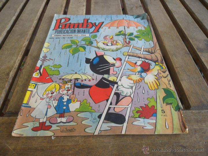 PUBLICACION INFANTIL PUMBY EDITORIAL VALENCIANA Nº 538 (Tebeos y Comics - Valenciana - Pumby)