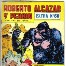 BDs: ROBERTO ALCAZAR Y PEDRIN, EXTRA Nº 60. VALENCIANA 1980. LITERACOMIC.. Lote 43863651