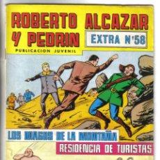 BDs: ROBERTO ALCAZAR Y PEDRIN, EXTRA Nº 58. VALENCIANA 1980. LITERACOMIC.. Lote 46576435