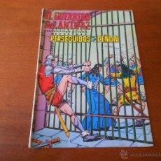 Tebeos: EL GUERRERO DEL ANTIFAZ Nº 27, ED. VALENCIANA 1972. Lote 43901934