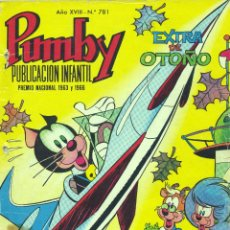 Tebeos: PUMBY. EXTRA DE OTOÑO 1972. Lote 43934580