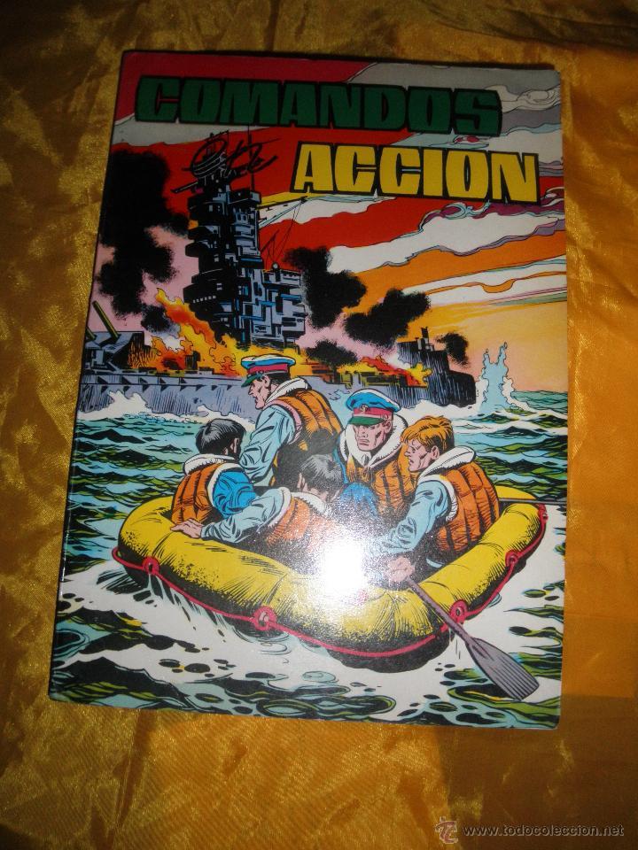 COMANDOS EN ACCION Nº 4. RETAPADO Nº 34- 37. (Tebeos y Comics - Valenciana - Otros)