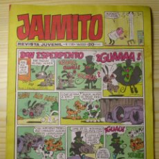 Tebeos: TEBEO JAIMITO Nº 1500. VALENCIANA. AÑO 1978. Lote 44023207