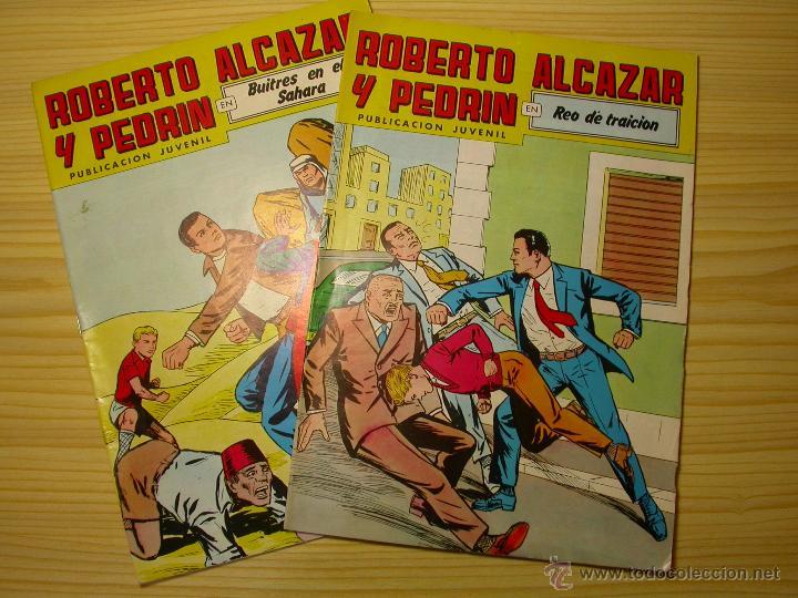 ROBERTO ALCAZAR Y PEDRIN. VALENCIANA. 2ª EPOCA. NÚMEROS 237 Y 238. (Tebeos y Comics - Valenciana - Roberto Alcázar y Pedrín)