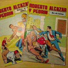 Tebeos: ROBERTO ALCAZAR Y PEDRIN. VALENCIANA. 2ª EPOCA. NÚMEROS 237 Y 238.. Lote 44024971