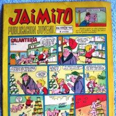 Tebeos: JAIMITO. PUBLICACION JUVENIL. EDIT. VALENCIANA, 1968.. Lote 44106219