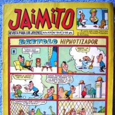 Tebeos: JAIMITO. PUBLICACION JUVENIL. EDIT. VALENCIANA, 1966.. Lote 44106258