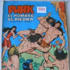 Tebeos: COMICS PURK EL HOMBRE DE PIEDRA AÑO 1.974. Lote 44116465