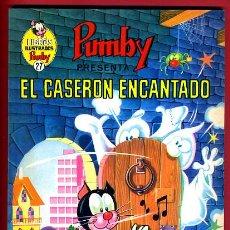 Tebeos: LIBROS ILUSTRADOS PUMBY , Nº 27 , EL CASERON ENCANTADO , VALENCIANA , ORIGINAL. Lote 44121198
