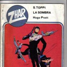 Tebeos: HUGO PRATT - LA SOMBRA CONTRA EL GENERAL - CONTENIDO EN LA REVISTA ZHAR Nº 3 - VALENCIANA - 1983. Lote 44139280