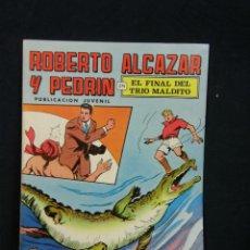 Tebeos: TEBEO COMIC ROBERTO ALCAZAR Y PEDRÍN PUBLICACIÓN JUVENIL 1976 EL FINAL DEL TRIO MALDITO Nº 18 2EPOCA. Lote 44269674