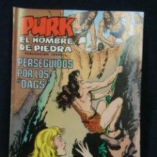 Tebeos: TEBEO COMIC PURK EL HOMBRE DE PIEDRA PUBLICACIÓN JUVENIL 1976 PERSEGUIDOS POR LOS DAGS Nº 85. Lote 44269844