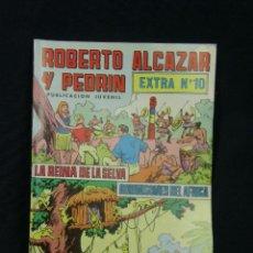 Tebeos: TEBEO COMIC ROBERTO ALCÁZAR Y PEDRÍN PUBLICACIÓN JUVENIL 1976 EXTRA Nº 10 LA REINA DE LA SELVA. Lote 44270084