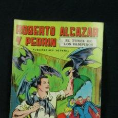 Tebeos: TEBEO COMIC ROBERTO ALCÁZAR Y PEDRÍN PUBLICACIÓN JUVENIL 1976 EL TUNEL DE LOS VAMPIROS Nº 5 2 EPOCA. Lote 111845671
