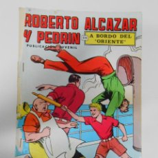 Tebeos: ROBERTO ALCAZAR Y PEDRÍN. Nº 10. VALENCIANA . 2ª ÉPOCA. A BORDO DEL ORIENTE. TDKC1. Lote 44466466