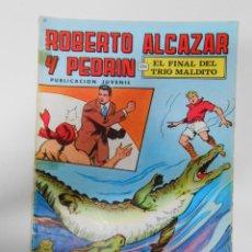 Tebeos: ROBERTO ALCÁZAR Y PEDRÍN 2ª EPOCA. Nº 18. VALENCIANA 1976. EL FINAL DEL TRIO MALDITO. TDKC1. Lote 44466645