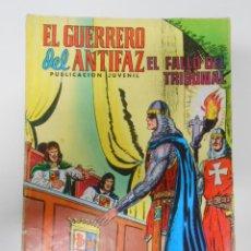 Tebeos: EL GUERRERO DEL ANTIFAZ - NUEVAS AVENTURAS Nº 220 EDITORIAL VALENCIANA. EL FALLO DEL TRIBUNAL TDKC3. Lote 44595992