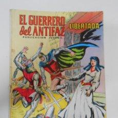 Tebeos: EL GUERRERO DEL ANTIFAZ Nº 249 EDITORIAL VALENCIANA. LIBERTADA. TDKC3. Lote 44638347
