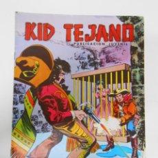 Tebeos: KID TEJANO Nº 25 EDITORIAL VALENCIANA. LA JAULA DE ORO. TDKC6. Lote 44638537