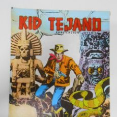 Tebeos: KID TEJANO Nº 27 EDITORIAL VALENCIANA. LA FORTALEZA SINIESTRA. TDKC6. Lote 44638564