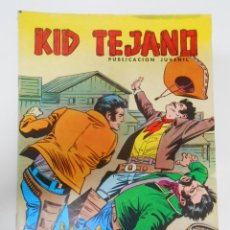 Tebeos: KID TEJANO Nº 30 EDITORIAL VALENCIANA. EL MAS FUERTE. TDKC6. Lote 44638610