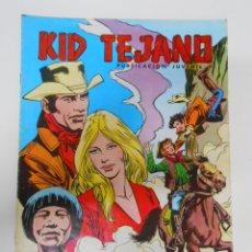 Tebeos: KID TEJANO Nº 34 EDITORIAL VALENCIANA. EL FINAL DE UNA HISTORIA. TDKC6. Lote 44638660