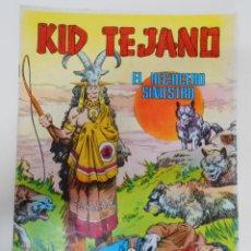 Tebeos: KID TEJANO Nº 4 EDITORIAL VALENCIANA. EL HECHICERO SINIESTRO. TDKC6. Lote 44638690