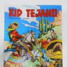 Tebeos: KID TEJANO Nº 13 EDITORIAL VALENCIANA. EL PASO, 1847. TDKC6. Lote 44638713