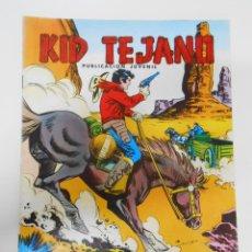 Tebeos: KID TEJANO Nº 18 EDITORIAL VALENCIANA. PERSECUCION FRUSTADA. TDKC6. Lote 44638728