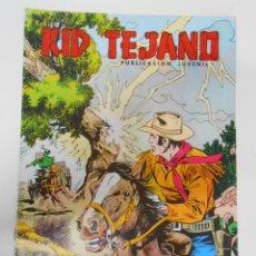 Tebeos: KID TEJANO Nº 20 EDITORIAL VALENCIANA. DOBLE TORMENTA. TDKC6. Lote 44638735