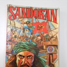 Tebeos: SANDOKAN. TOMO UNICO. EDITORIAL VALENCIANA. 1976. TDKC7. Lote 44668237