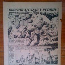 Tebeos: ROBERTO ALCÁZAR Y PEDRÍN, EXTRA Nº 16, DE 1966, PERSECUCIÓN EN EL TIBET. Lote 44671972