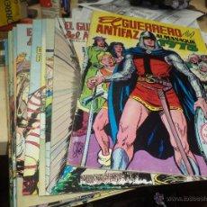 Tebeos: LOTE GUERRERO DEL ANTIFAZ-16 NÚMEROS DE 2 PTAS Y ALMANAQUE 1973 CON POSTER.. Lote 44743957