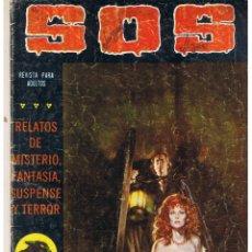 Tebeos: S O S. Nº 19. SEGUNDA EPOCA. VALENCIANA 1980. Lote 44770566