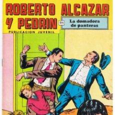 Tebeos: ROBERTO ALCAZAR Y PEDRIN. Nº 92. LA DOMADORA DE PANTERAS. SEGUNDA EPOCA. VALENCIANA 1977(ST/). Lote 44770618