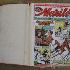 Tebeos: LOTE TEBEOS ANTIGUOS AÑOS 40 EDITORIAL VALENCIANA MARILO 30 AL 60 APROX. Lote 44917288