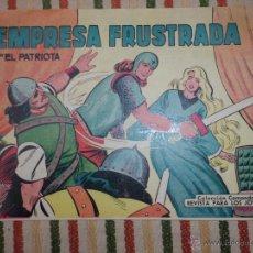 Tebeos: EL PATRIOTA Nº 5 EDITORIAL VALENCIANA. Lote 121803446